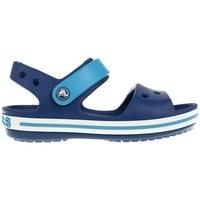 Sapatos Rapaz Sandálias Crocs Crocband Azul