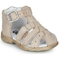 Sapatos Rapaz Sandálias GBB ARIGO Branco