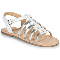 Sapatos Rapariga Sandálias Citrouille et Compagnie MAYANA Branco / Prateado