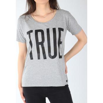 Textil Mulher T-Shirt mangas curtas Lee T-shirt  Ultimate Tee L42JEP37 grey