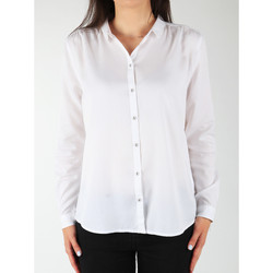 Textil Mulher camisas Wrangler L/S Relaxed Shirt W5190BD12 white
