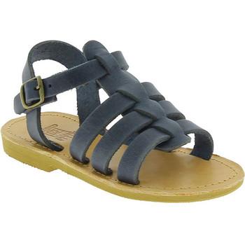 Sapatos Rapaz Sandálias Attica Sandals PERSEPHONE NUBUCK BLUE blu