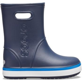 Sapatos Criança Botas de borracha Crocs Crocs™ Crocband Rain Boot Kid's Navy/Bright Cobalt