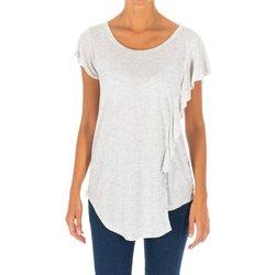 Textil Mulher Túnicas Met Camiseta manga corta Cinza