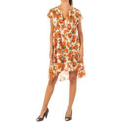Textil Mulher Vestidos curtos La Martina Vestido Multicolor