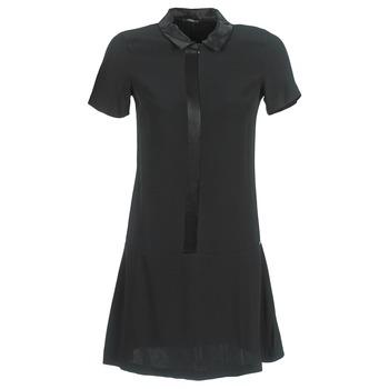 Textil Mulher Vestidos curtos Ikks BIGU Preto