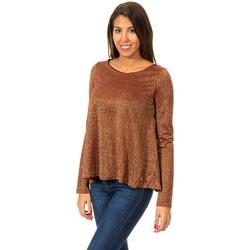 Textil Mulher camisolas Met Jersey de Manga Larga Multicolor