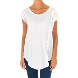 Textil Mulher Tops / Blusas Met Camiseta manga corta Branco
