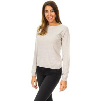 Textil Mulher camisolas Met Jerseis manga larga Bege