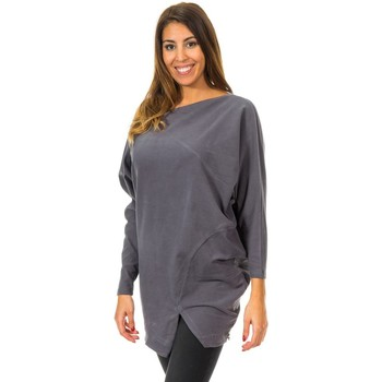 Textil Mulher camisolas Met Jersey Murcielago Cinza