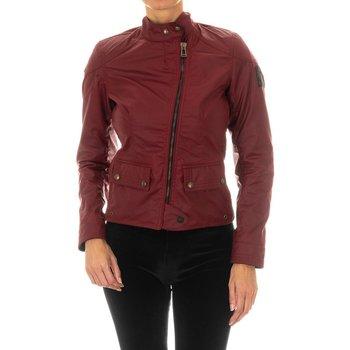 Textil Mulher Casacos de couro/imitação couro Belstaff Chaqueta  Bradshaw WC6 Vermelho