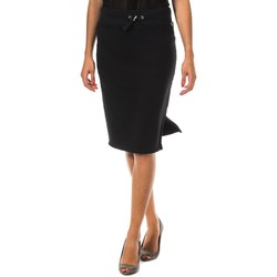 Textil Mulher Saias Met Falda de tubo Preto