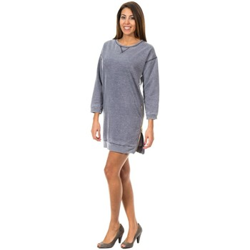 Textil Mulher Vestidos curtos Met Vestido Deportivo Azul