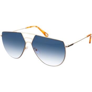 Relógios & jóias Mulher óculos de sol Chloe Gafas de Sol Chloé Ouro