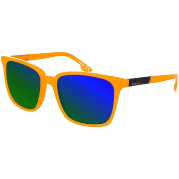 Relógios & jóias Homem óculos de sol Diesel Sunglasses Gafas de sol Diesel Laranja