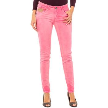 Textil Mulher Calças La Martina Pantalón elástico Rosa
