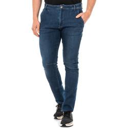 Textil Homem Calças Jeans La Martina Pantalón tejano Azul