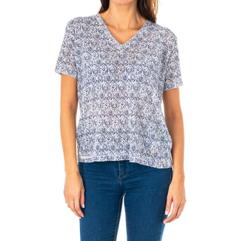 Textil Mulher Tops / Blusas La Martina Camiseta Manga Corta Azul