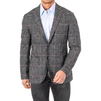 Textil Homem Casacos/Blazers La Martina Americana Preto