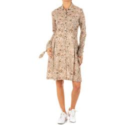 Textil Mulher Vestidos curtos La Martina Vestido Castanho