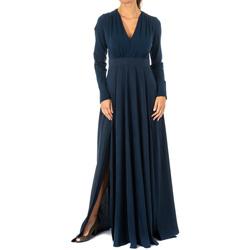 Textil Mulher Vestidos compridos La Martina Vestido Azul