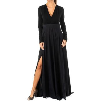 Textil Mulher Vestidos compridos La Martina Vestido Preto