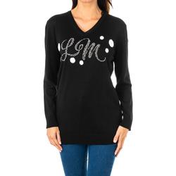Textil Mulher camisolas La Martina Jersey m/larga Preto