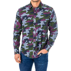 Textil Homem Camisas mangas comprida La Martina Camisa M/Larga Multicolor
