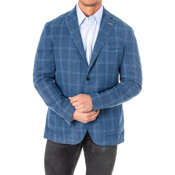 Textil Homem Casacos/Blazers La Martina Americana Azul