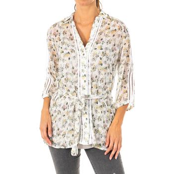 Textil Mulher camisas La Martina Camisa manga 3/4 Multicolor