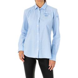 Textil Mulher camisas La Martina Camisa manga larga Multicolor