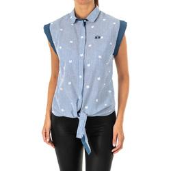 Textil Mulher camisas La Martina Camisa sin mangas Azul