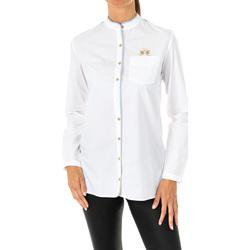 Textil Mulher camisas La Martina Camisa manga larga Branco