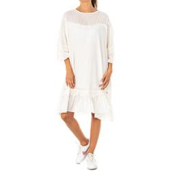 Textil Mulher Vestidos curtos La Martina Vestido Branco