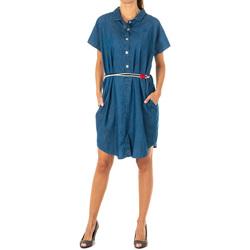 Textil Mulher Vestidos curtos La Martina Vestido tejano Azul
