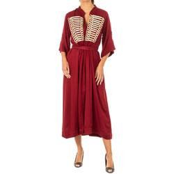 Textil Mulher Vestidos compridos La Martina Vestido Vermelho