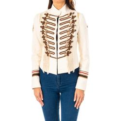 Textil Mulher Casacos/Blazers La Martina Chaqueta m/larga Bege