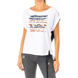 Textil Mulher T-Shirt mangas curtas La Martina Camiseta Manga Corta Multicolor
