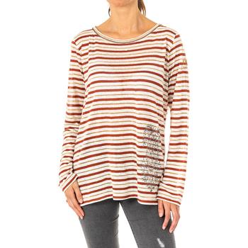 Textil Mulher T-shirt mangas compridas La Martina Camiseta Manga Larga Multicolor