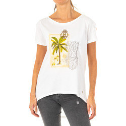 Textil Mulher T-Shirt mangas curtas La Martina Camiseta Manga Corta Branco
