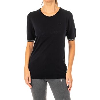 Textil Mulher T-Shirt mangas curtas La Martina Camiseta Manga Corta Preto