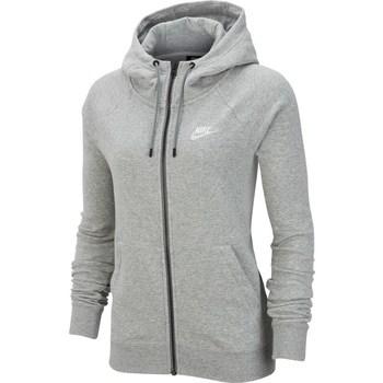 Textil Mulher Sweats Nike Wmns Essential FZ Fleece Cinzento