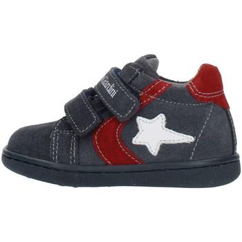 Sapatos Criança Sapatilhas de cano-alto Nero Giardini A919000M Azul