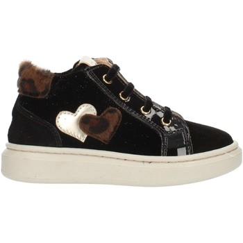 Sapatos Criança Sapatilhas de cano-alto Nero Giardini A921212F Preto