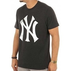 Textil Homem T-Shirt mangas curtas 47 Brand Camisa 47 New York Yankees Noir