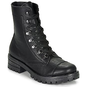 Sapatos Mulher Botas baixas André NIVA Preto