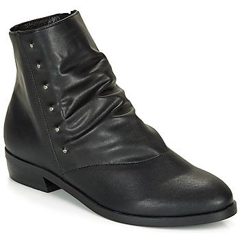 Sapatos Mulher Botas baixas André ELIPSE Preto