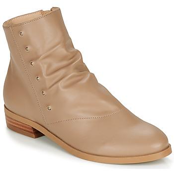 Sapatos Mulher Botas baixas André ELIPSE Camel