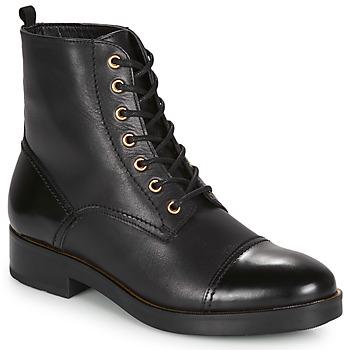 Sapatos Mulher Botas baixas André ELEANNA Preto