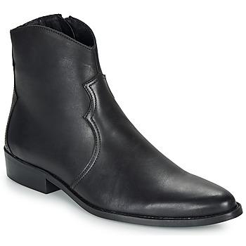 Sapatos Homem Botas baixas André WESTERN Preto
